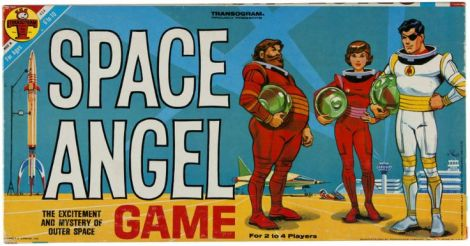 space angel board game